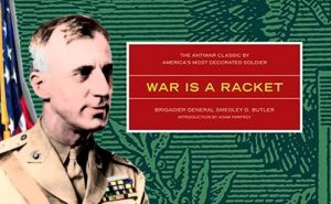 Book Cover: War is a racket
