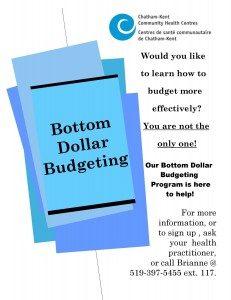 Bottom Dollar Budgeting