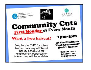 Community Cuts Poster