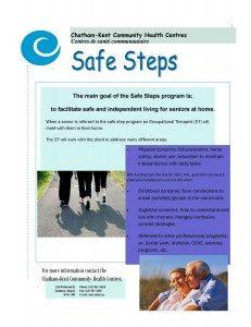 Safe Steps Poster