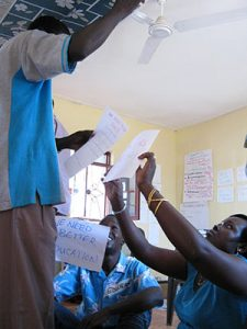 South Sudan Train the Trainer Pillars of Power