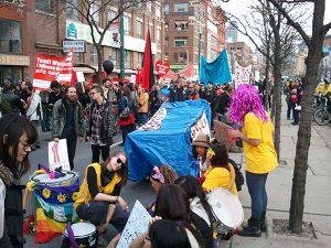 Occupy Toronto March September 2012