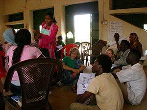 Non-violence training in South Sudan