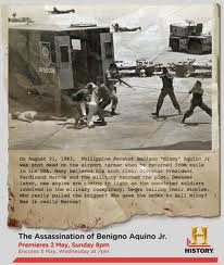 Newspaper clipping about the assassination of Aquino