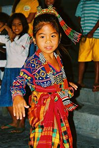 Philippines Dancing Girl