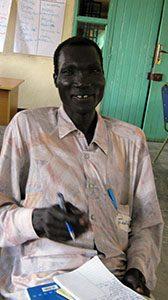 South Sudan NV training Ferdinand