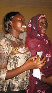 South Sudan NV training Delphina and Sadya