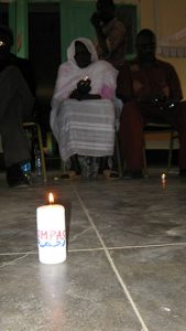 South Sudan NV Training candles