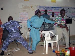South Sudan NV Training Graduation Roleplay