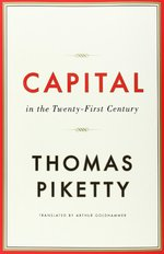 Thomas Piketty Capitol book cover