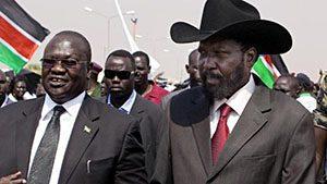VP Riek Machar (Nuer), President Salva Kiir (Dinka)
