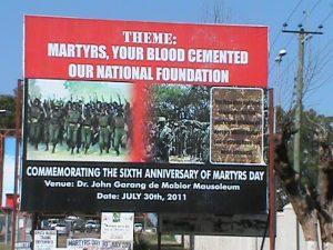 Martyr Day Billboard